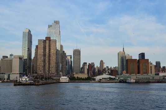 Midtown Manhattan from the Hudson River