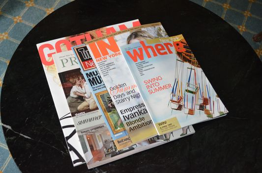 free New York magazines in Elysee