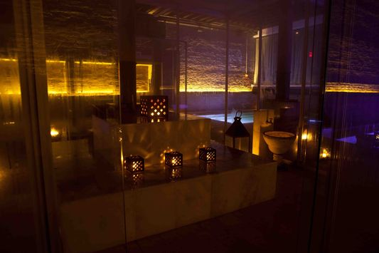 steam sauna in Aire Ancient Baths in NY