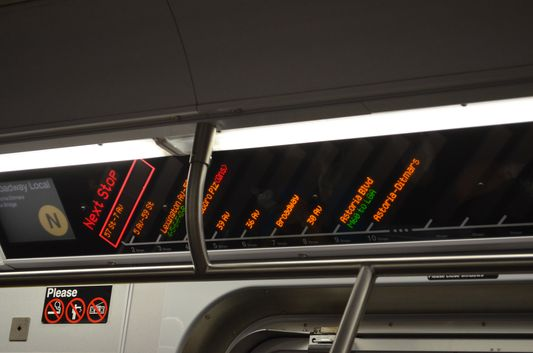 subway stops in NYC Subway