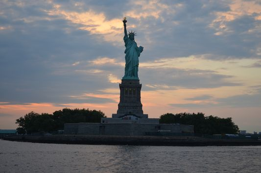 the Statue of Liberty in NYC from Circle Line Sightseeing Cruise thanks to CityPASS