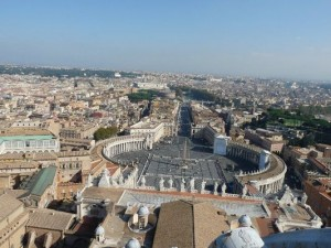 Rome from St Peter's Cathedral
