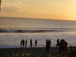 a Bali beach
