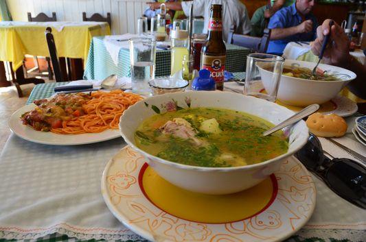 delicious Chilean menu meals