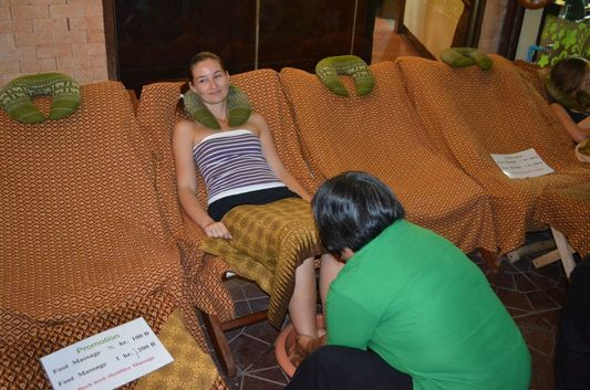 foot massage in Bangkok