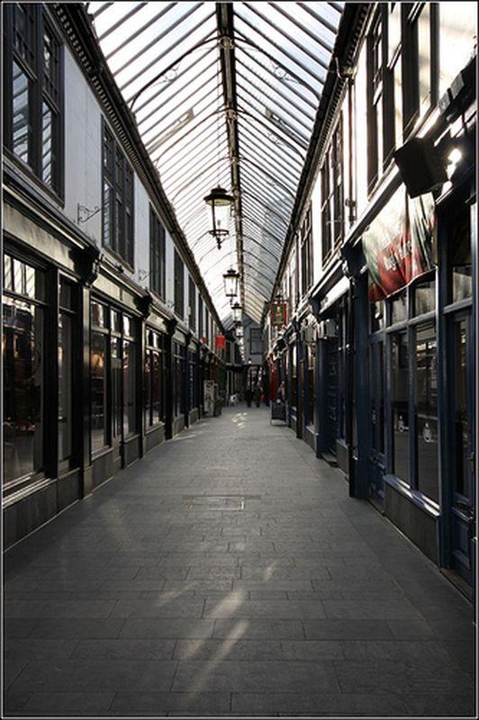 Wyndham Arcade in Cardiff