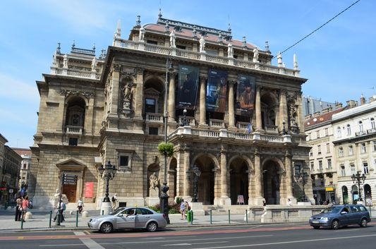 Opera House at Andrassy utca