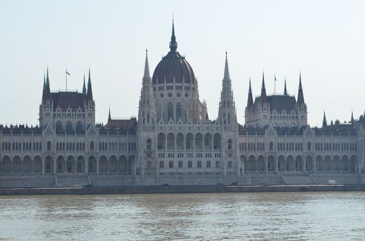 Parliament seen from Buda