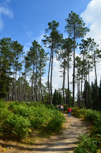 we started hiking through the beautiful landscapes of Arouca Geopark