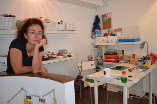 Judit and her workplace
