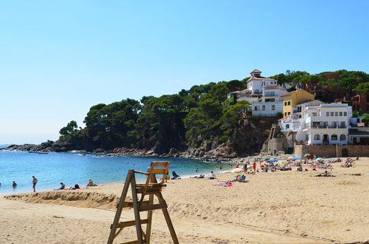 Llafranc beach