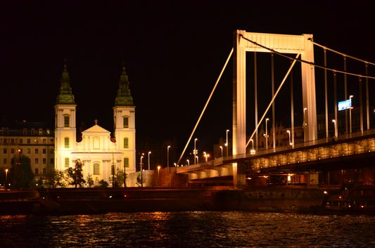 Parish Church and Elisabeth Bridge