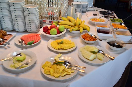 buffet breakfast in Hotel Solverde Spa Wellness