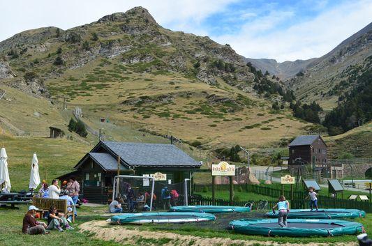 children playground in Nuria Valley