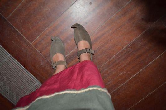 crazy sexy fun traveler's medieval shoes