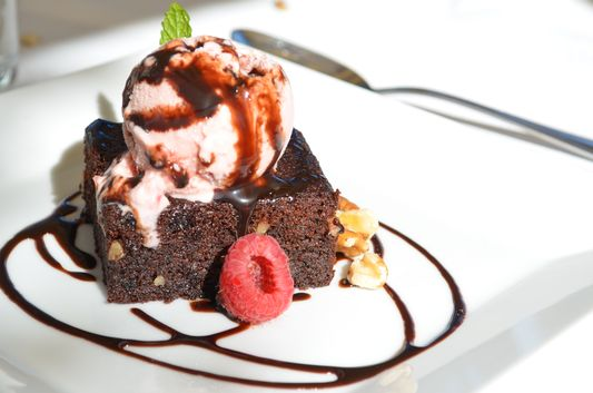dessert in Hotel Sant Roc