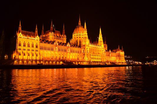 impressive Parliament building