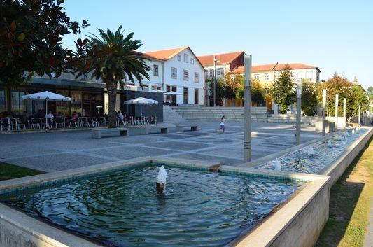 in the centre of Santa Maria da Feira