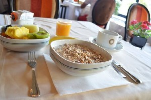 my breakfast in Hotel Solerde Spa & Wellness