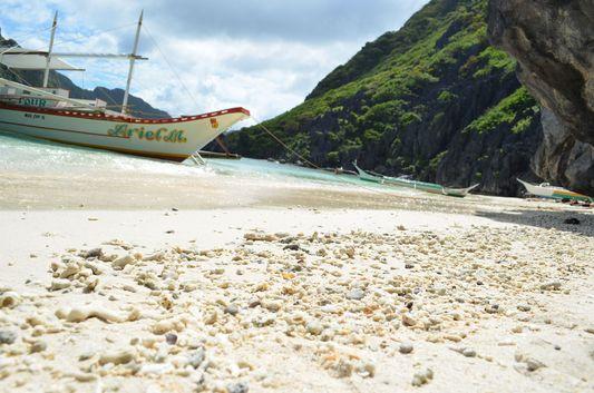 white sand beaches of Palawan