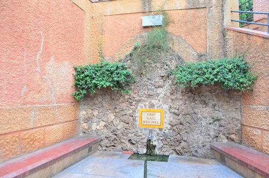 Fountain of the Mine in Caldes de Malavella