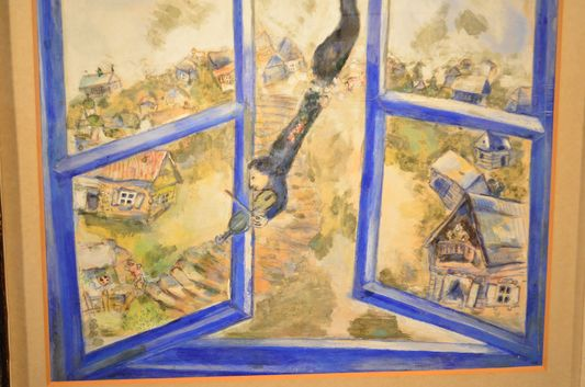 Marc Chagall's Blue Paradise