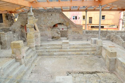 Roman remains of Aquae Calidae