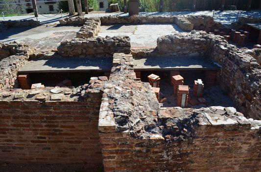 Roman villa ruins