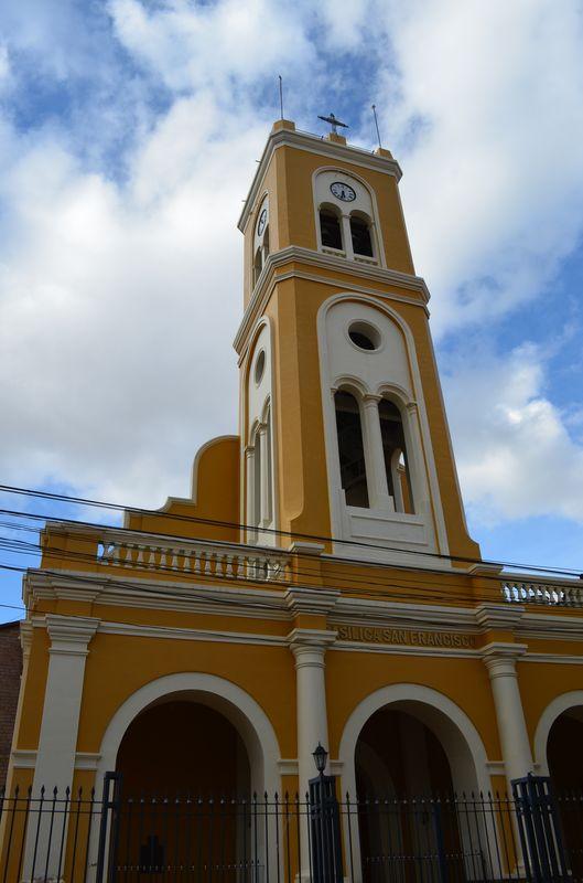 San Francisco Church in Tarija
