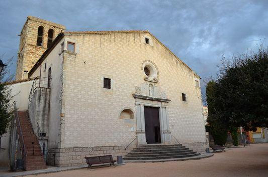 St. Stephen's church in Caldes de Malavella