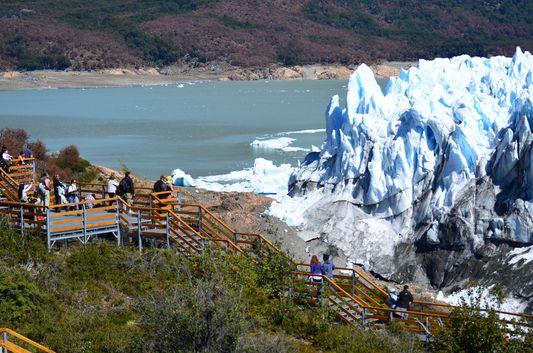 amazing Perito Moreno landscape