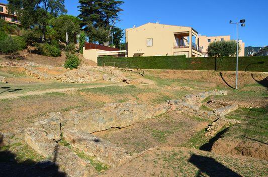 entering Roman villa of the Ametllers