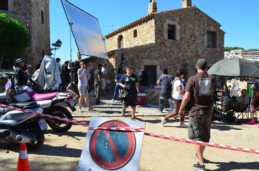 filming What about Love