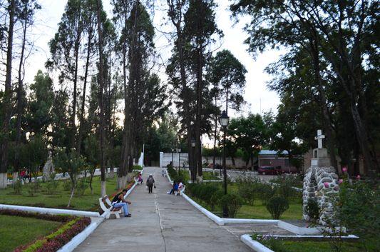 park above Loma de San Juan