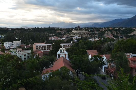seen from the viewpoint Loma de San Juan