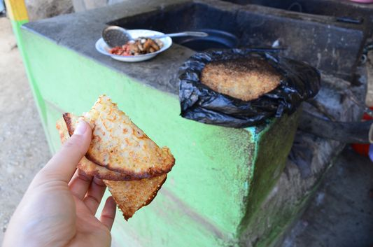 traditional Bolivian pancakes