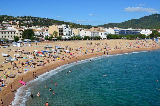 view of Tossa de mar