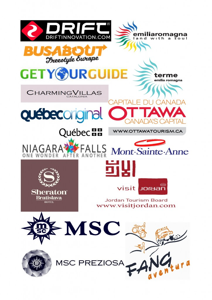 Adventure and spa logos