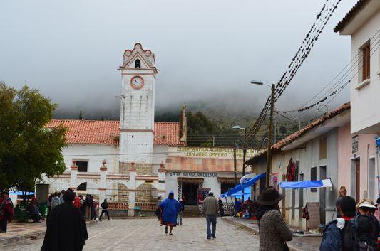 Iglesia de San Pedro in Tarabuco