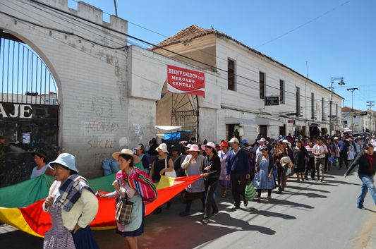 Mercado Central in Sucre