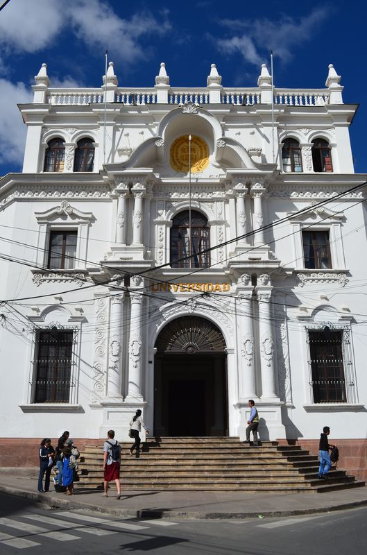 entrance to the University of Sucre