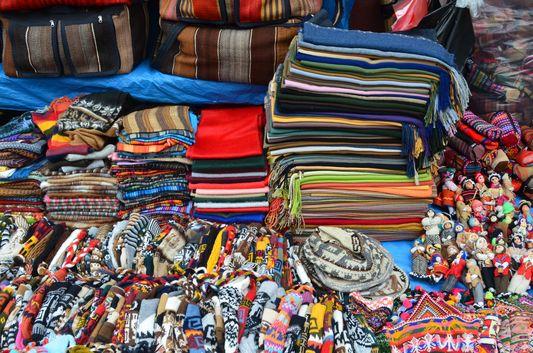 hand-made woolen clothes