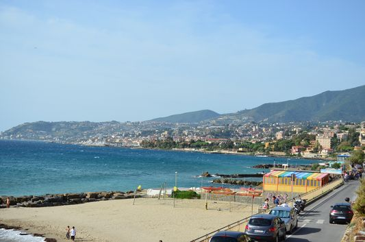 isn't Sanremo coast beautiful