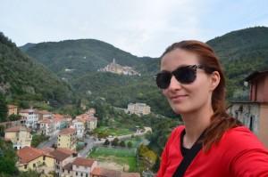 views of Pigna and Castel Vittorio