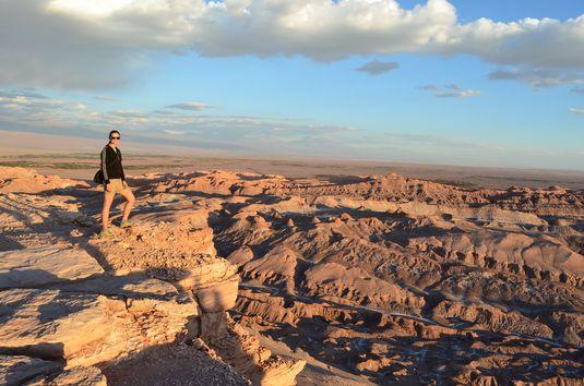 Moon Valley in Atacama