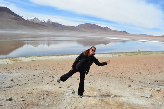 around Uyuni Salt Flats in Bolivia