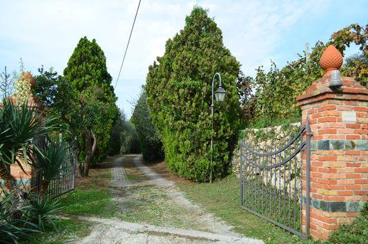 entrance to Azienda Agricola Sacone