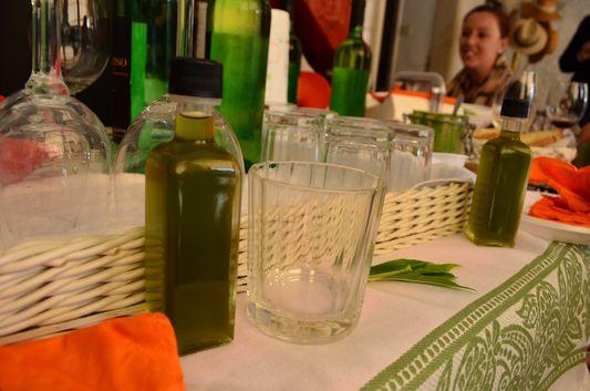 we got samples of Cultivar Taggiasca olive oil
