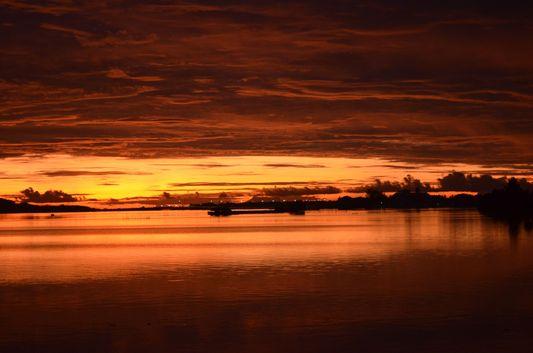 Bohol sunrise