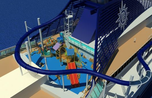 MSC Preziosa waterslide